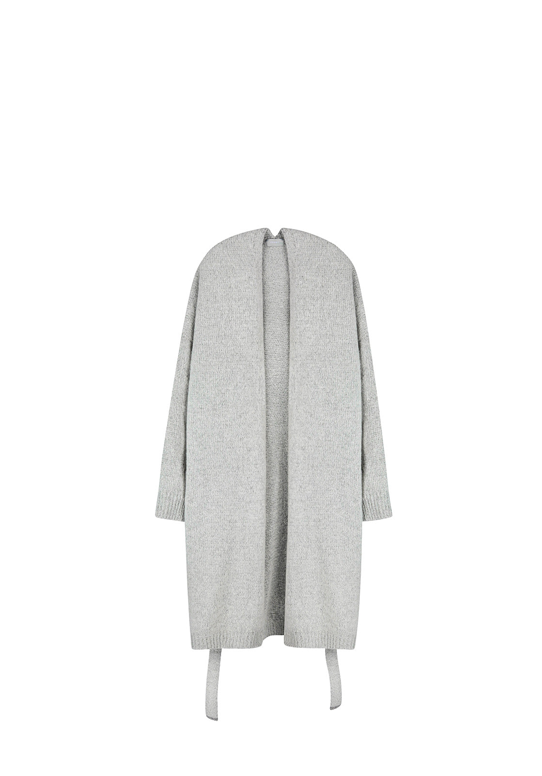 V517 OVERSIZE ROBE LONG CARDIGANGRAY