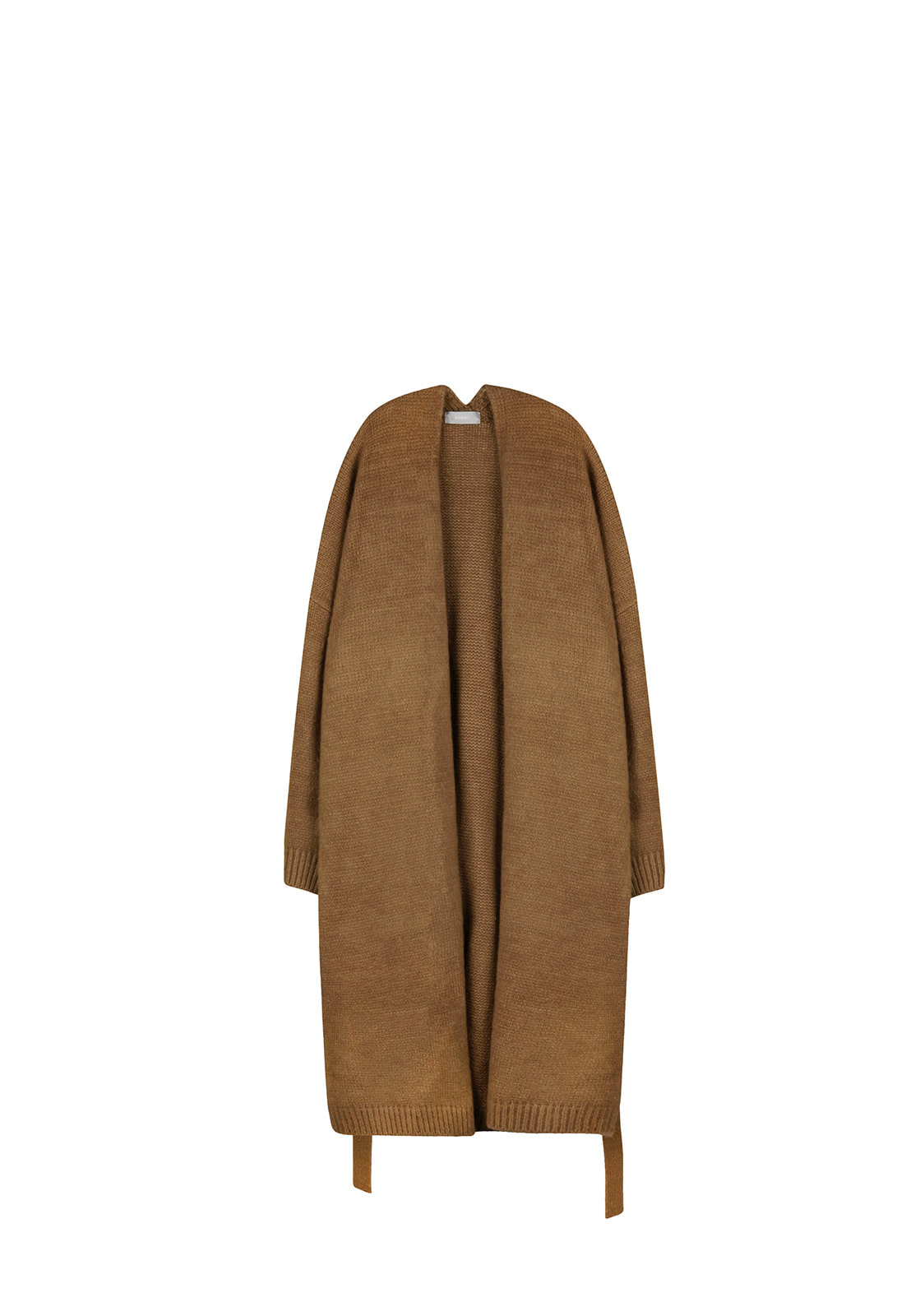 V517 OVERSIZE ROBE LONG CARDIGANBROWN