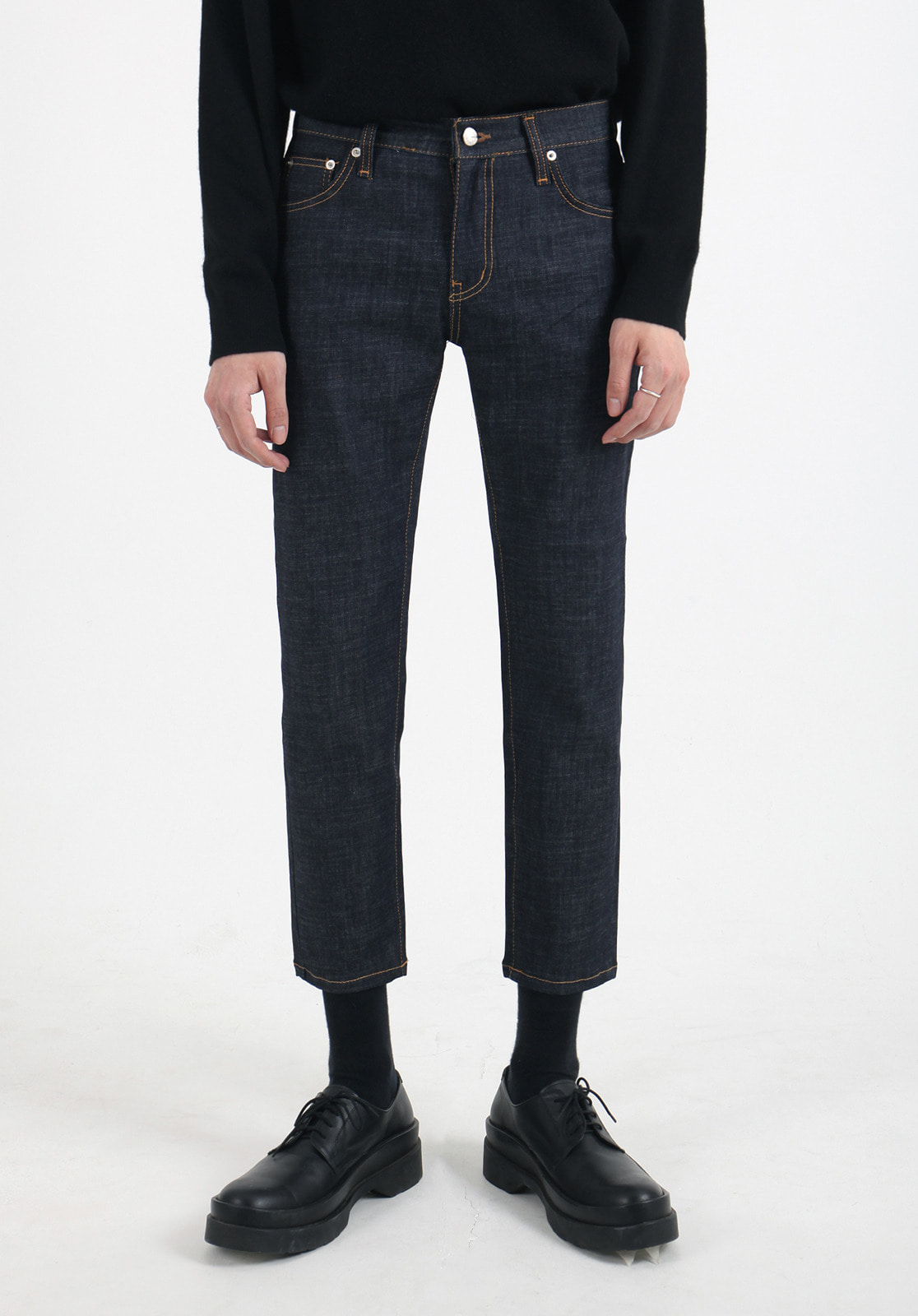 V301 MARS SLIM FIT INDIGO DENIM PANTS  BLUE